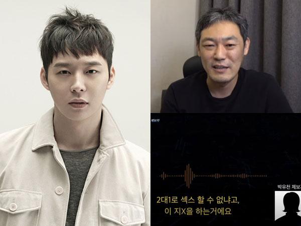Dituding Ajak Fans Berhubungan Seks Bertiga, Park Yoochun Tuntut YouTuber Kim Yong Ho