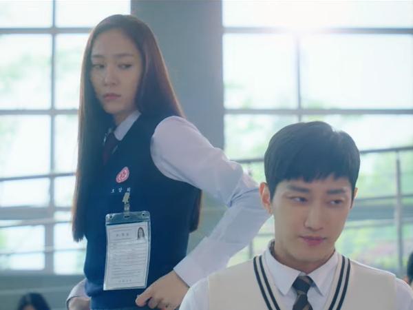 Pertemuan Awal Jinyoung B1A4 dan Krystal di Drama 'Police University'