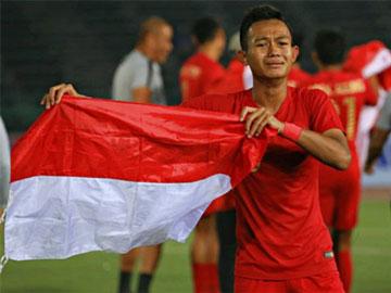 Sani Rizki Fauzi, Anggota Polisi yang Cetak Gol Kemenangan Timnas Indonesia di Piala AFF U-22