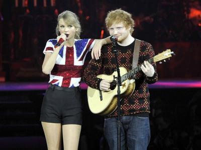 Ed Sheeran Tulis Lagu Tentang Taylor Swift di Album Barunya?