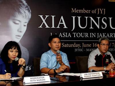 Tiba di Jakarta, Xiah Junsu Siap Hibur Penonton