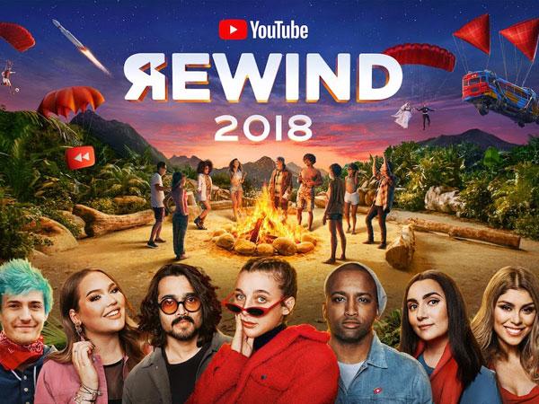 YouTube Rewind 2018 Kompilasi Semua Momen Viral dari Fortnite Hingga K-Pop