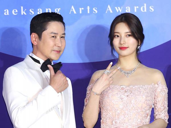 Shin Dong Yup dan Suzy Kembali Dipasangkan Jadi MC Baeksang Arts Awards