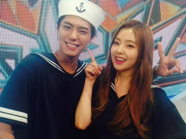 Selalu Penuh Chemistry, Park Bo Gum dan Irene Red Velvet akan Hengkang dari 'Music Bank'