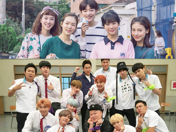 'Age of Youth 2' dan 'Knowing Brother' Jadi Program TV Korea Paling Favorit
