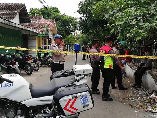 Terdengar Ledakan Keras Diduga Bom di Pemukiman Bangil Pasuruan
