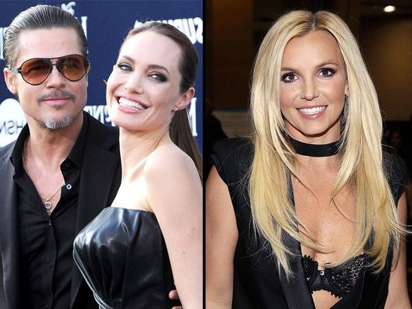 Brangelina Pisah, Britney Spears Ngaku Suka dengan Brad Pitt