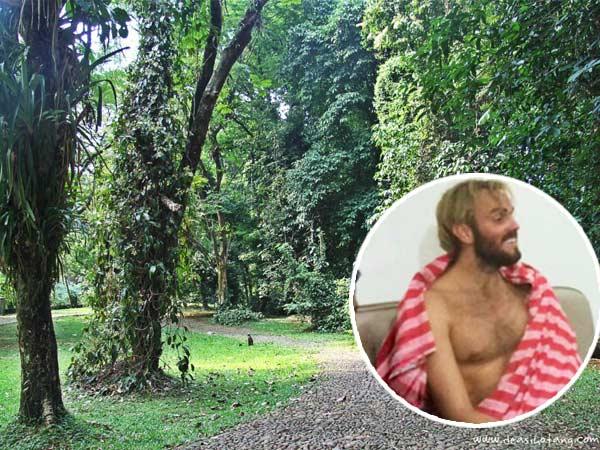 Latar Belakang Kedatangan Bule Selandia Baru yang Meditasi di Kebun Raya Bogor