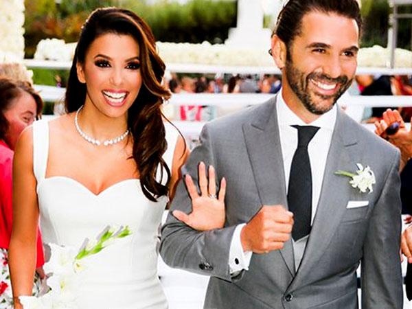 Selamat, Eva Longoria dan Jose Baston Resmi Menikah di Meksiko!