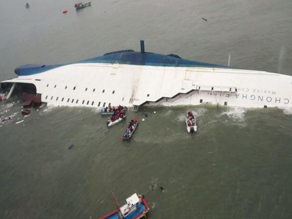 Satu Jasad Korban Ferry Sewol Kembali Ditemukan di Hari Ulang Tahunnya