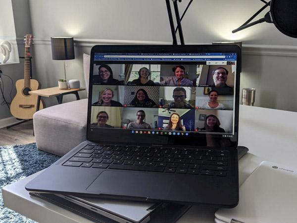 Google Meet Kini Bisa Tampilkan 16 Orang Sekaligus di Layar