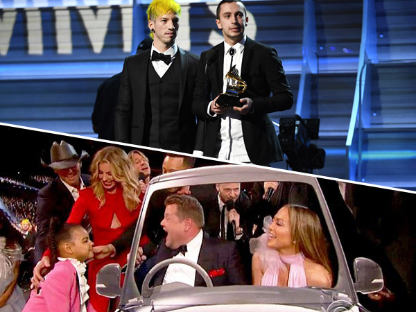 Lepas Celana Hingga Hentikan Penampilan, Ini Momen Paling Berkesan Sepanjang Grammy Awards 2017!