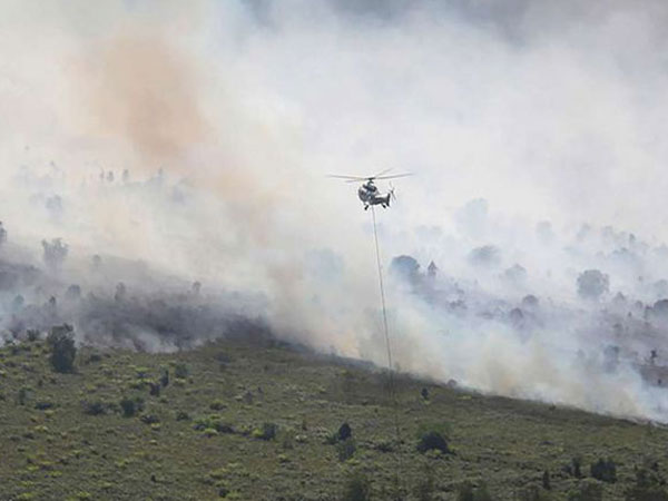 Seperti Ini Proses Hujan Buatan Untuk Padamkan Api Karhutla Riau-Kalimantan