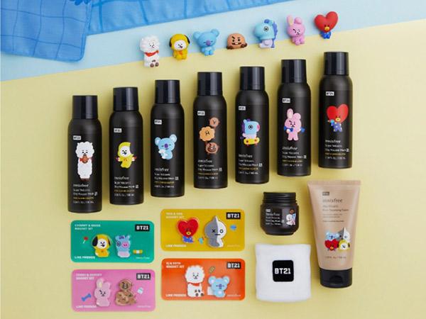 Innisfree Rilis Skincare Edisi Terbatas Kolaborasi dengan BT21, Ini Harganya