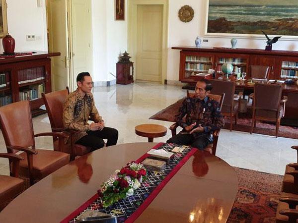 Jawaban Dari Pertemuan Antara Presiden Jokowi dan AHY Pasca Pengumuman Hasil Pemilu 2019