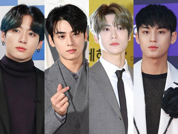 Dispatch Laporkan Jungkook, Eunwoo, Jaehyun, dan Mingyu Hangout di Tengah Pandemi