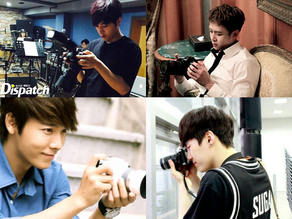 6 Member Boy Group yang Punya Hobi di Bidang Fotografi!