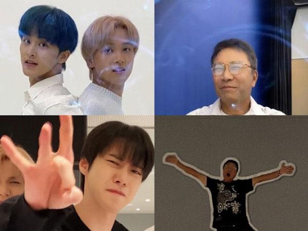 Netizen Minta Lee Soo Man Bikin TikTok Gegara Aksi Kocaknya Bareng NCT 127