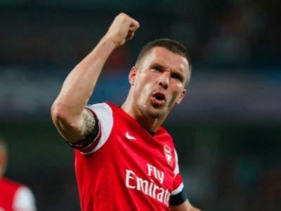 Podolski Yakin Arsenal Masuk Liga Champions