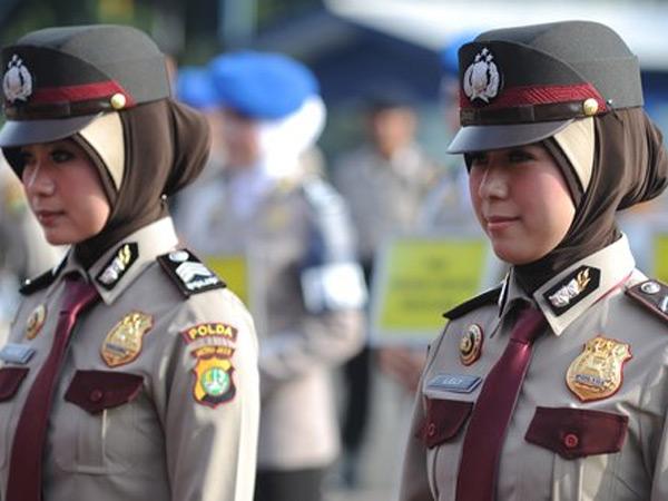 Redam Aksi Demo 4 November, Polisi Siap Terjunkan 300 Polwan Berhijab