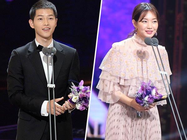 Song Joong Ki dan Shin Min Ah Bawa Pulang Piala, Ini Daftar Pemenang 'Seoul Drama Awards 2016'!