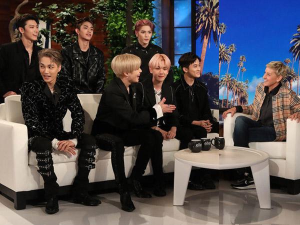 Intip Keseruan SuperM di 'the Ellen Show': Pilih Nama Fandom Hingga Ngaku Masih Jomblo
