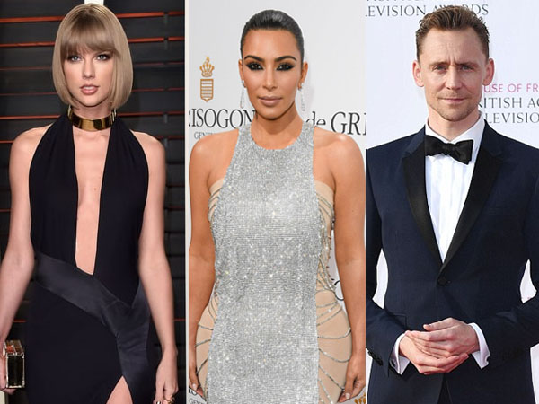 Heboh Perseteruan antara Taylor Swift dan Kim Kardashian, Ini Tanggapan Tom Hiddleston
