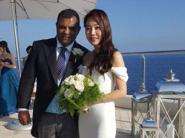 Bos AirAsia Resmi Nikahi Artis Korea di Hotel Mewah Perancis