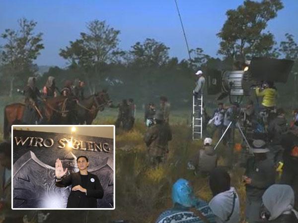 Ini Dia Suasana Syuting Hari Pertama Film 'Wiro Sableng 212'