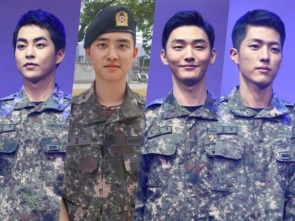 Xiumin dan D.O EXO Hingga Sungyeol INFINITE Bintangi Teater Musikal Militer