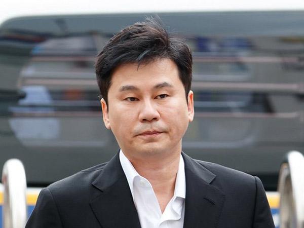 Yang Hyun Suk Dilimpahkan ke Kejaksaan Atas Kasus Informan Narkoba B.I