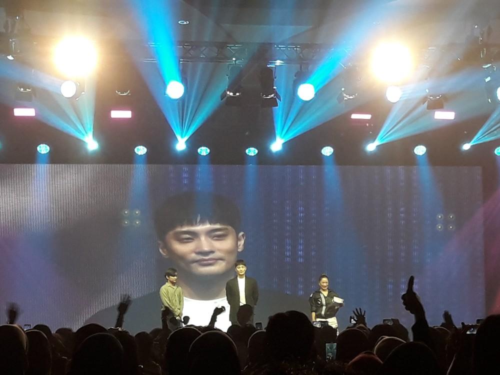 Sung Hoon Sukses Gelar Jumpa Fans Perdana di Jakarta