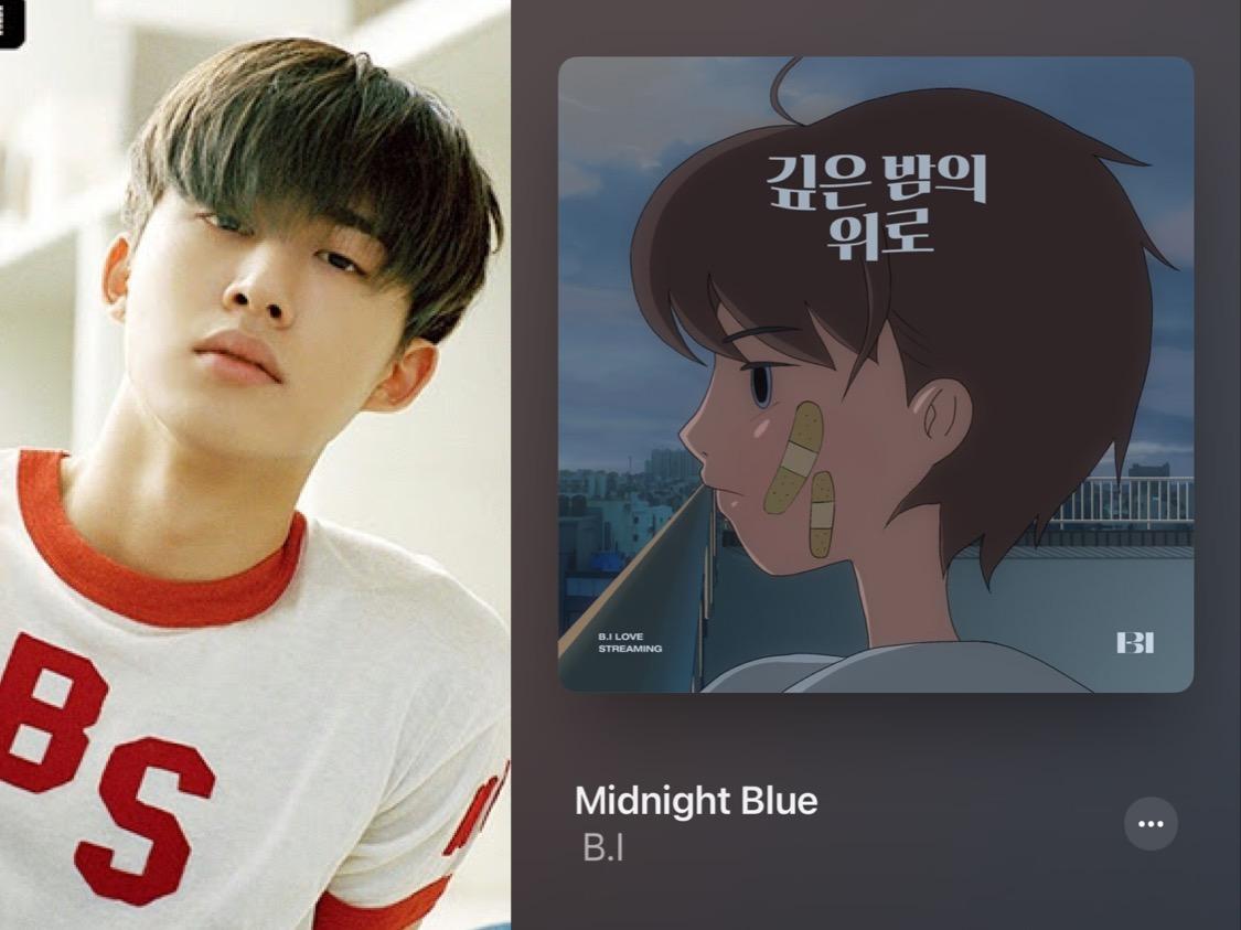 Bedah Lirik Lagu B.I - Midnight Blue: Sesaknya Hidup Pura-pura Baik Saja