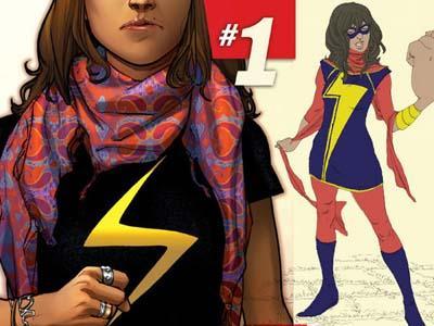 Gadis Muslim Umur 16 Tahun Jadi Superhero Baru Marvels Comics?