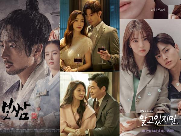 Rating Drama Jung Il Woo dan Sung Hoon Naik, 'Nevertheless' Mulai dari 2 Persen