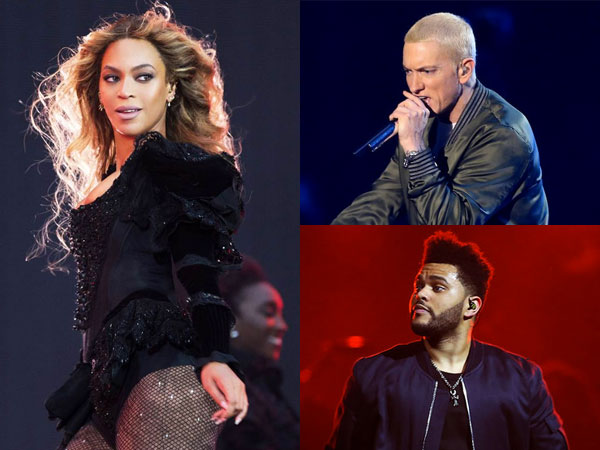 Beyonce Knowles, The Weeknd dan Eminem Siap Ramaikan Coachella 2018!