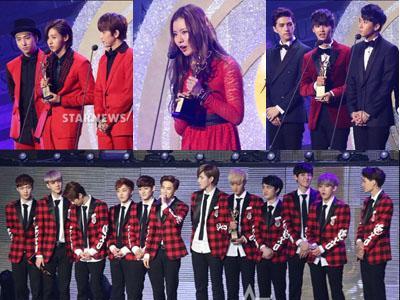 Inilah Para Idola K-Pop Peraih Penghargaan di 'Seoul Music Awards 2014'