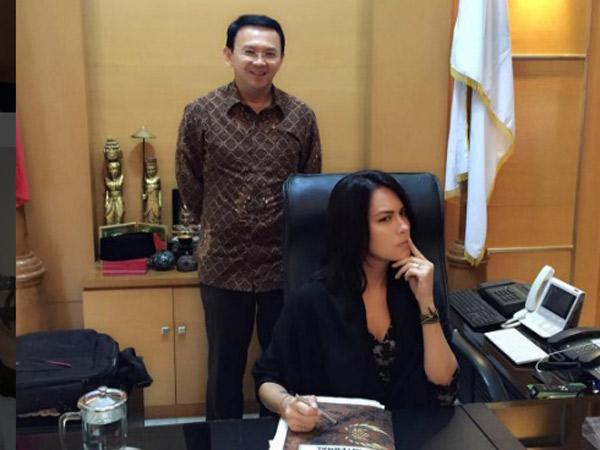 Intip Sisi Seru dan Kocaknya 'PDKT' Sophia Latjuba Jelang Jadi Jubir Ahok