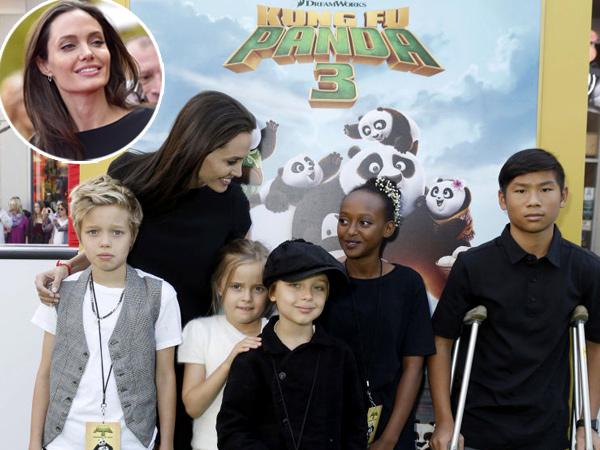 Cerai dari Brad Pitt, Angelina Jolie Ajak Anak-anaknya Tinggal di Rumah Sewaan