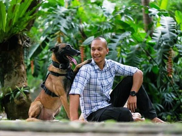 Kedua Anjing Bima Aryo 'Ditarik' Satuan Anjing Pelacak Setelah Dinyatakan Bebas Rabies