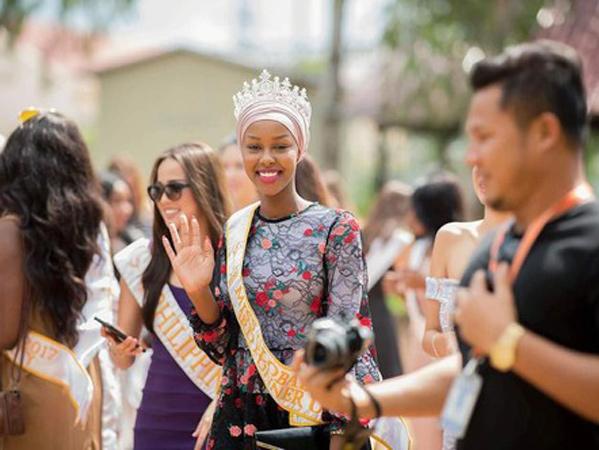 Ayan Said, Hijabers Pertama yang Jadi Juara Miss Global 2017