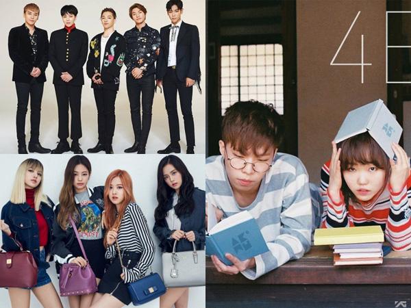 Tiga Artis YG Entertainment Ini Masuk Daftar Comeback di Bulan November?
