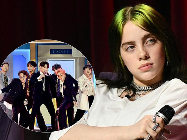Tak Disetujui Fans, Billie Eilish Tetap Respon Positif Kemungkinan Kolaborasi dengan BTS