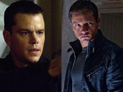 Matt Damon - Jeremy Renner  Akting di Bourne 5