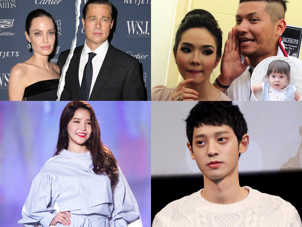 Perceraian Jolie-Pitt Hingga Rumor Seleb Korea Jadi Berita Populer di Minggu Ini