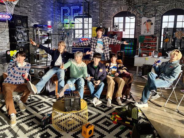 BTS Melonjak Lagi di Chart Billboard 200 Usai Perilisan Album 'BE' Versi Terbaru
