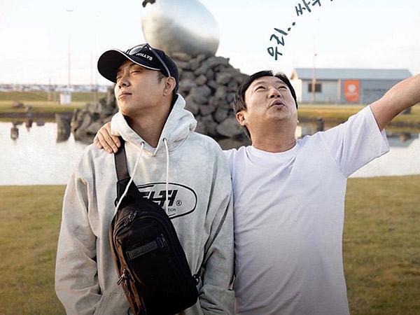 tvN Rilis Rangkaian Poster Kocak Variety Eun Jiwon dan Lee Soo Geun, 'Iceland in Three Meals'