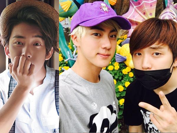Lucunya, Gongchan B1A4 Cemburu Saat Sandeul B1A4 dan Jin BTS Pamer Kedekatan