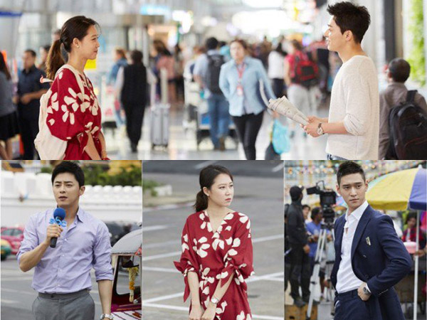 Gong Hyo Jin Hingga Jo Jong Suk Terlihat Syuting Drama 'Incarnation of Envy' di Thailand