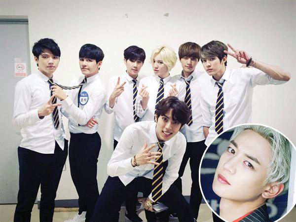 Muncul di Penampilan Infinite, Video 'Penampakan' Kepala Minho SHINee Jadi Viral